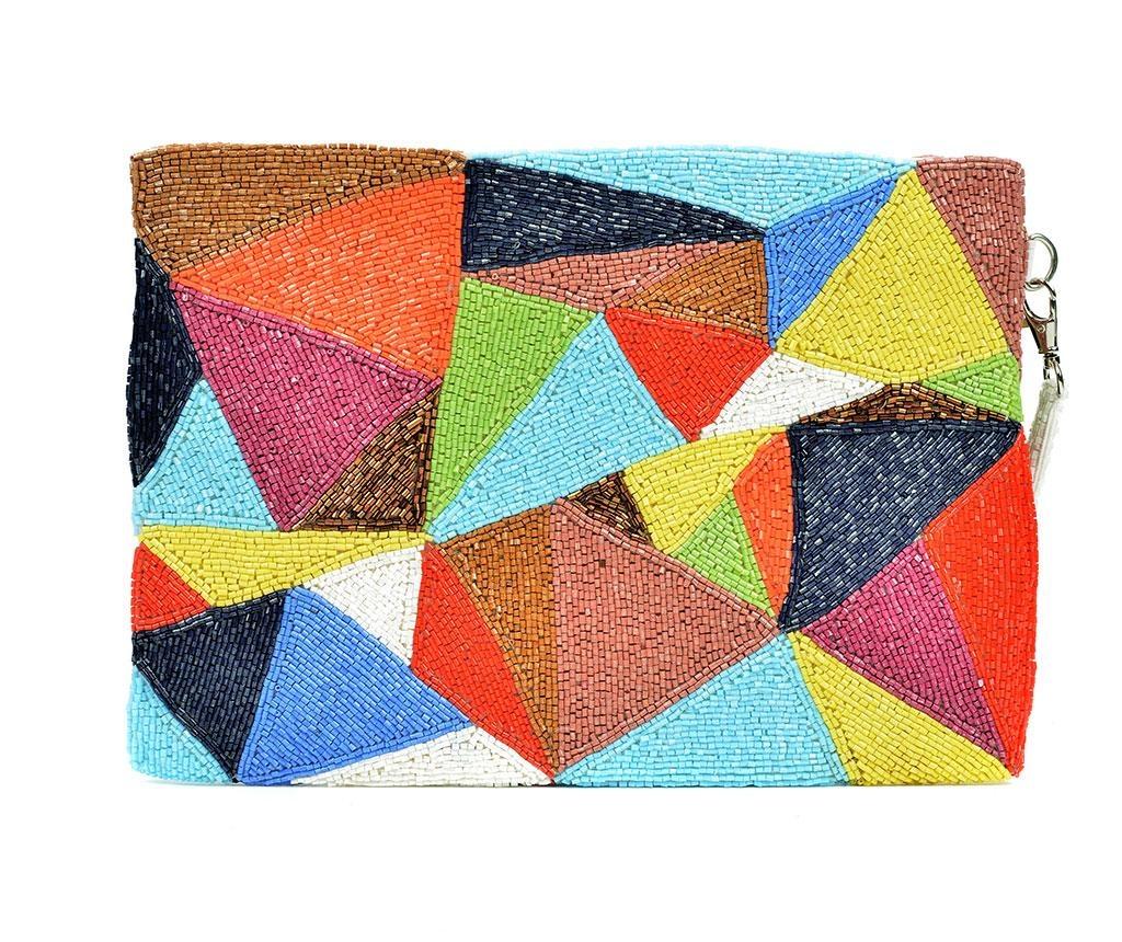 Geanta plic Abstract Triangles