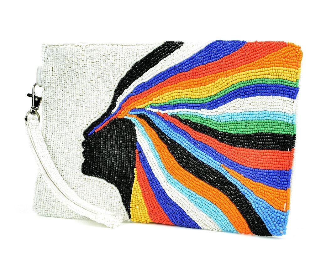 Geanta plic Colourful Confidence