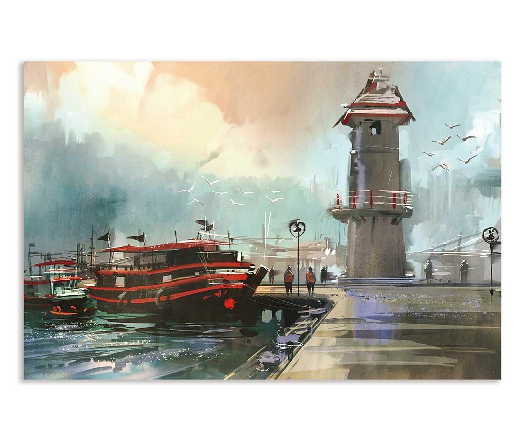 Tablou Harbor 80x120 cm