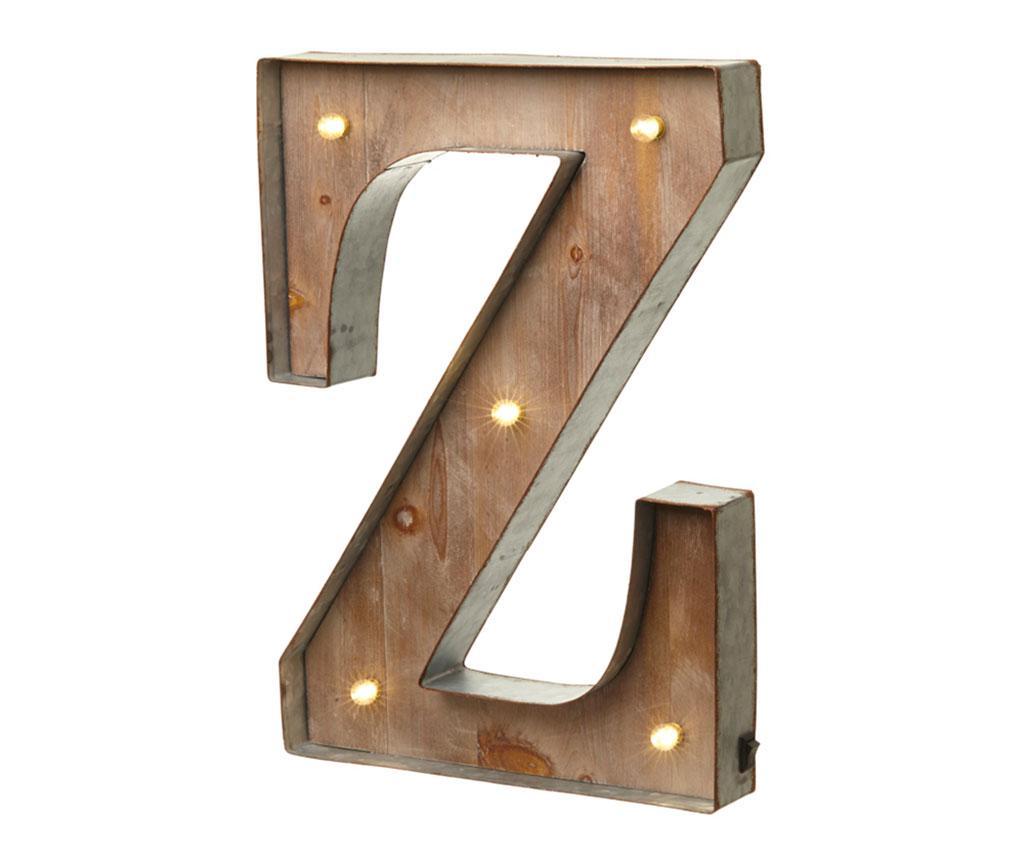Decoratiune luminoasa Letter Z - Heaven Sends, Maro