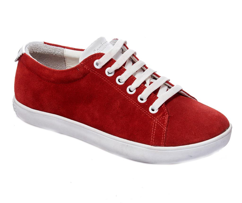 Pantofi sport dama Sorana Red Nubuck 38 - Comfortfüße, Rosu