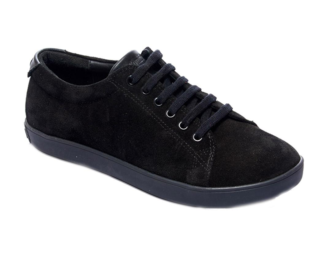 Pantofi sport dama Sorana Black Nubuck 37 - Comfortfüße, Negru