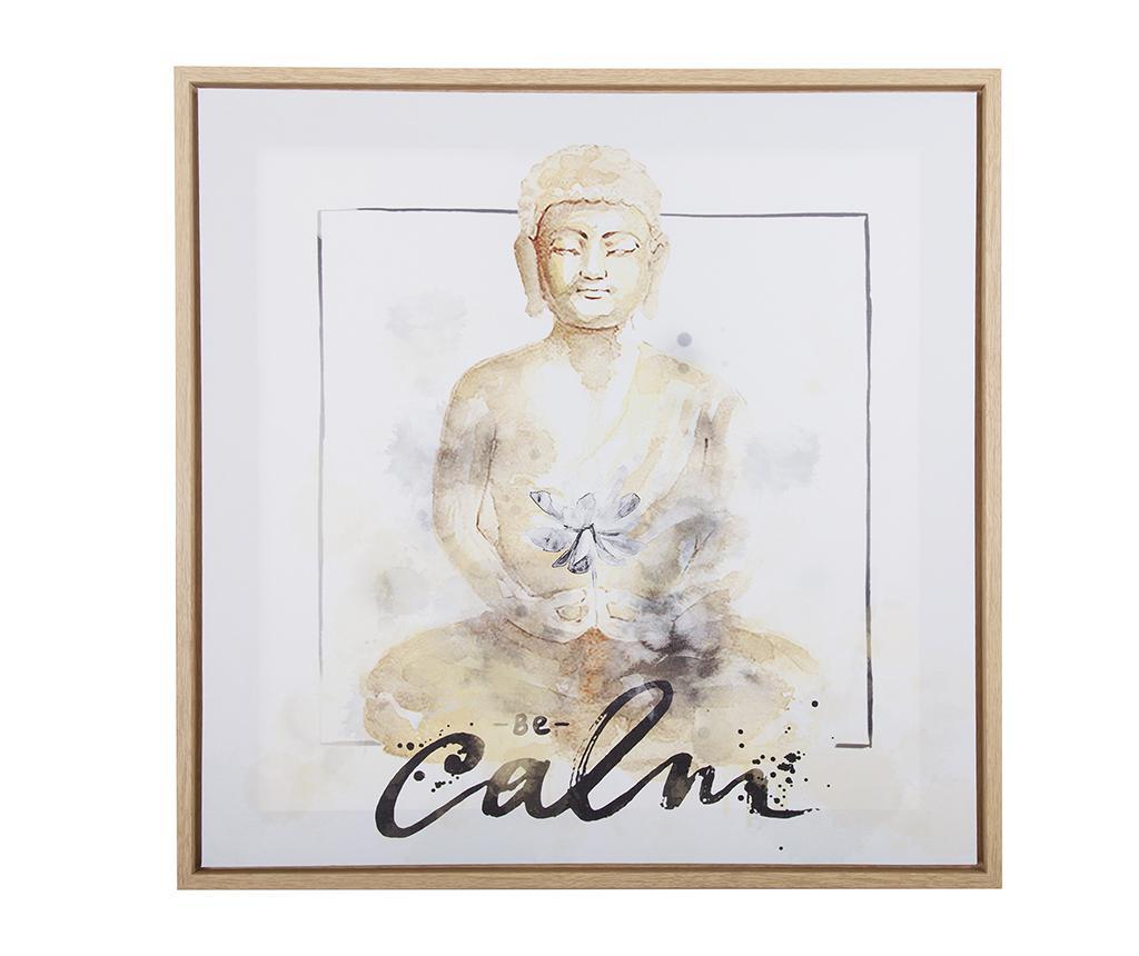 Tablou Be Calm 50x50 cm