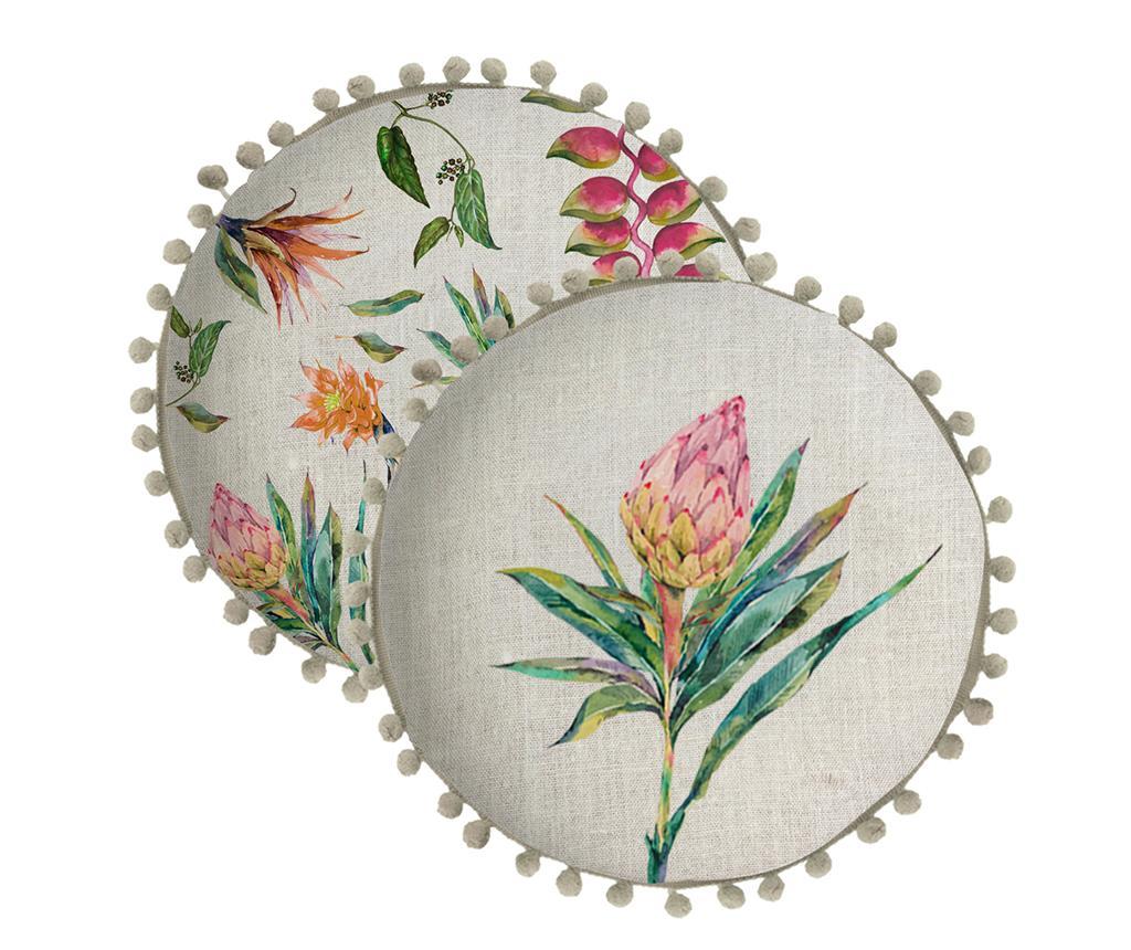 Perna decorativa Flores Salvajes 45 cm - Madre Selva, Multicolor
