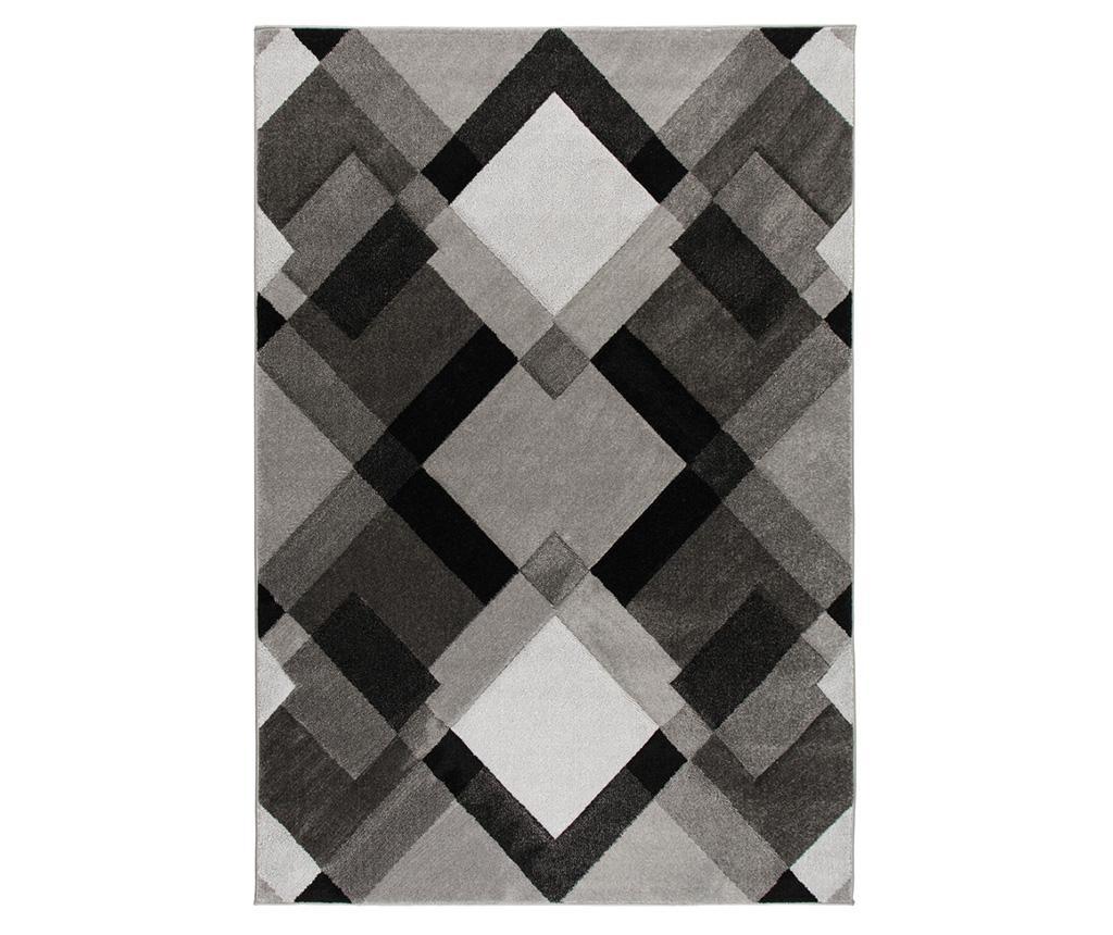 Covor Nimbus Grey 160x230 cm - Flair Rugs, Gri & Argintiu