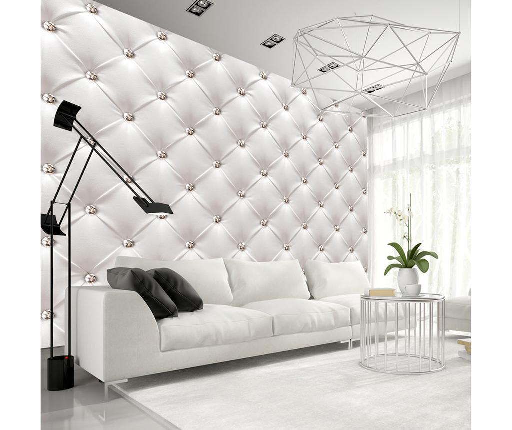 Tapet White Elegance 280x400 cm - Artgeist, Alb