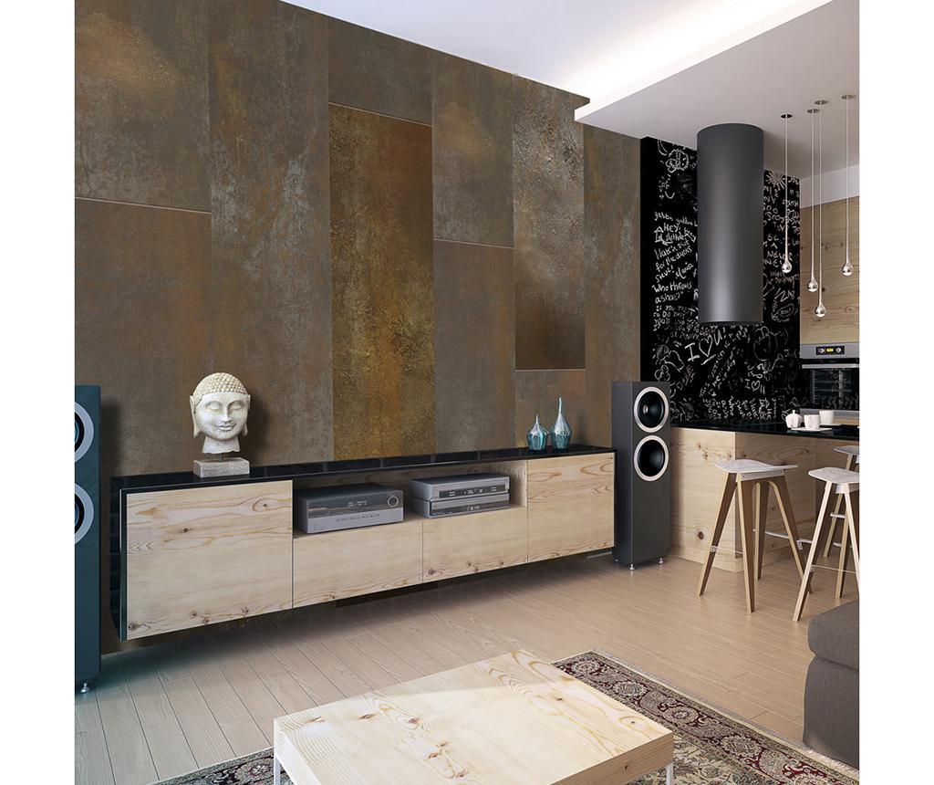 Tapet Golden Basilisk 50x1000 Cm - Artgeist, Galben & Auriu