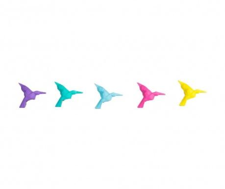 Sada 20 mazacích gum Origami