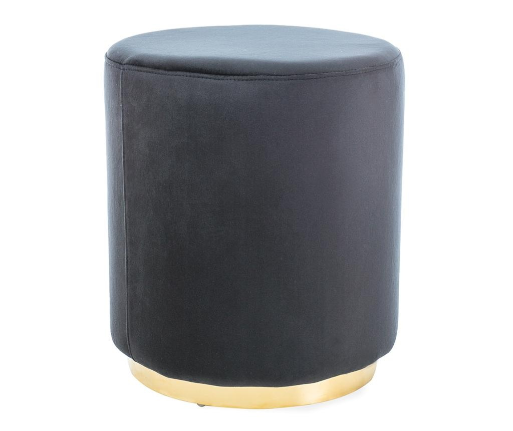 Tabure Turla Black & Gold