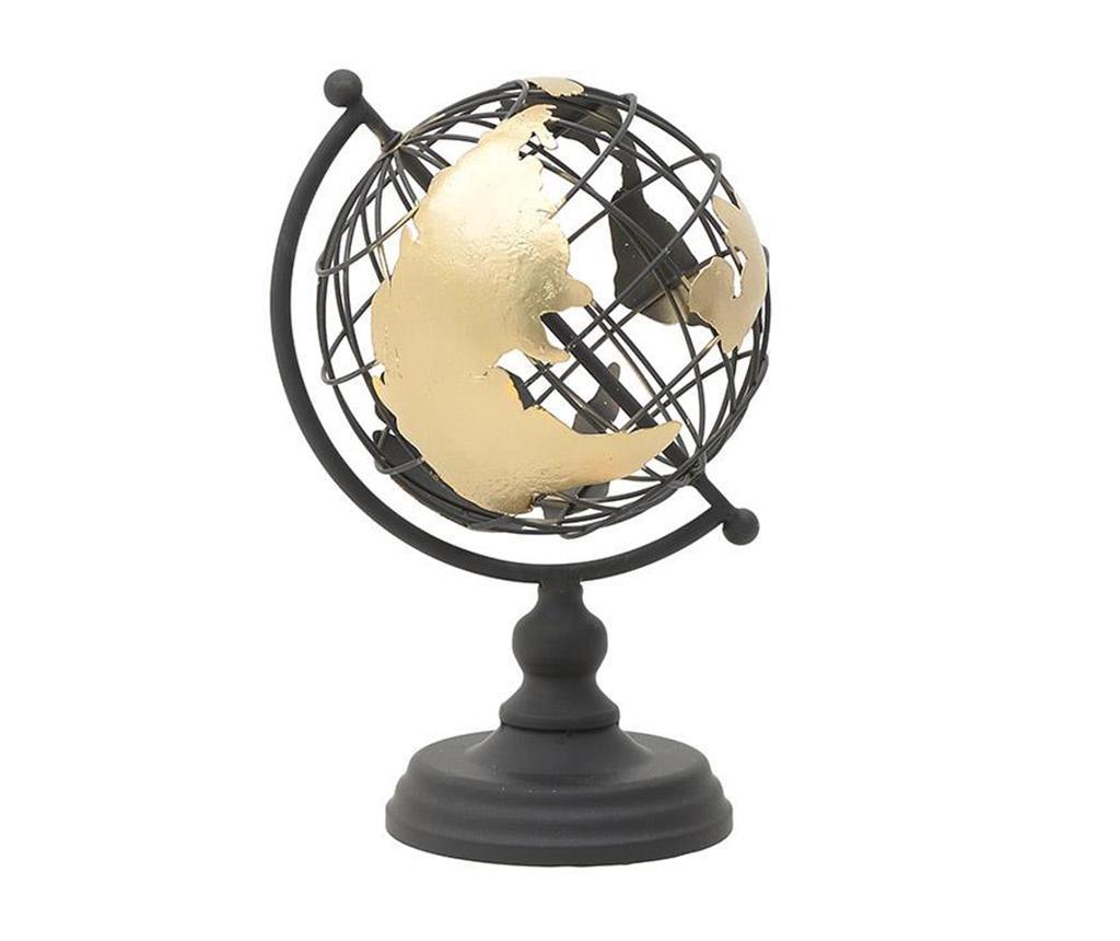 Dekorácia Globe Golden