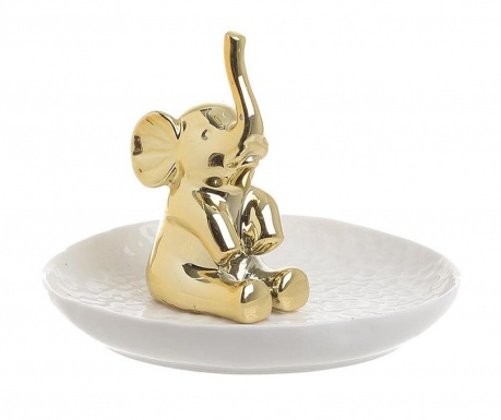 Platou decorativ Golden Elephant