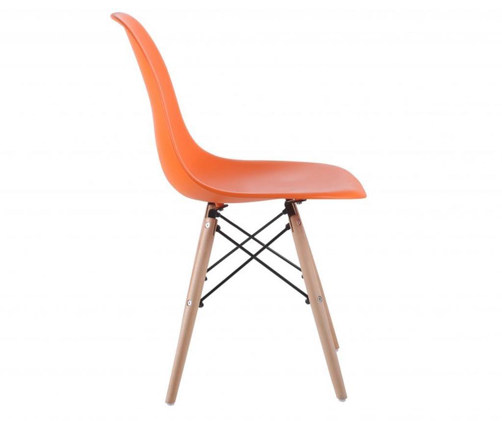 Комплект 4 стола Lunaria Orange