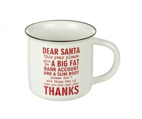 Šalica Dear Santa