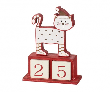 Calendar Advent Christamas Cat