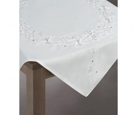 Centralna podkładka stołowa Rene White 85x85 cm