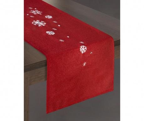Bieżnik stołowy Rene Red 33x140 cm