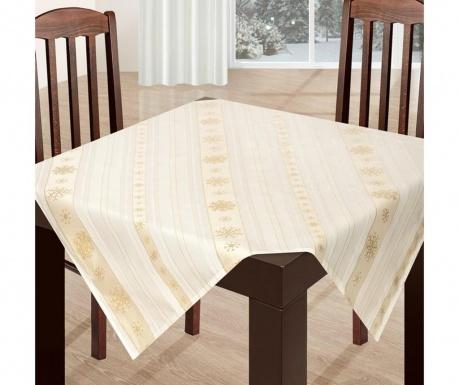 Centralna podkładka stołowa Lara Gold 85x85 cm