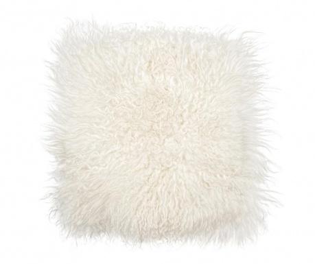 Perna de sezut Icelandic Curly Natural White 37x37 cm