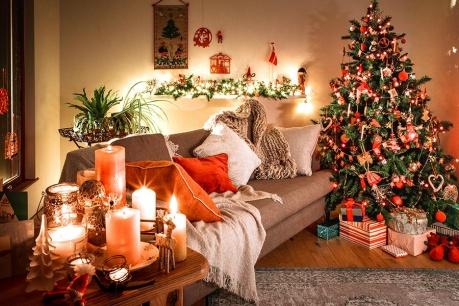 Skandinavsko rdeč božič
