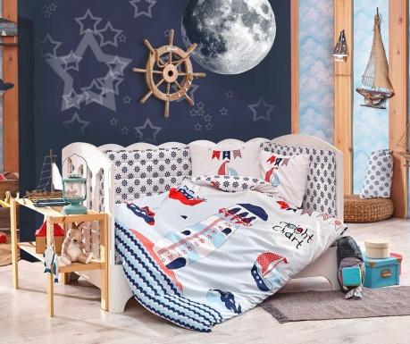 Otroška posteljnina Poplin Supreme Baby Sailor