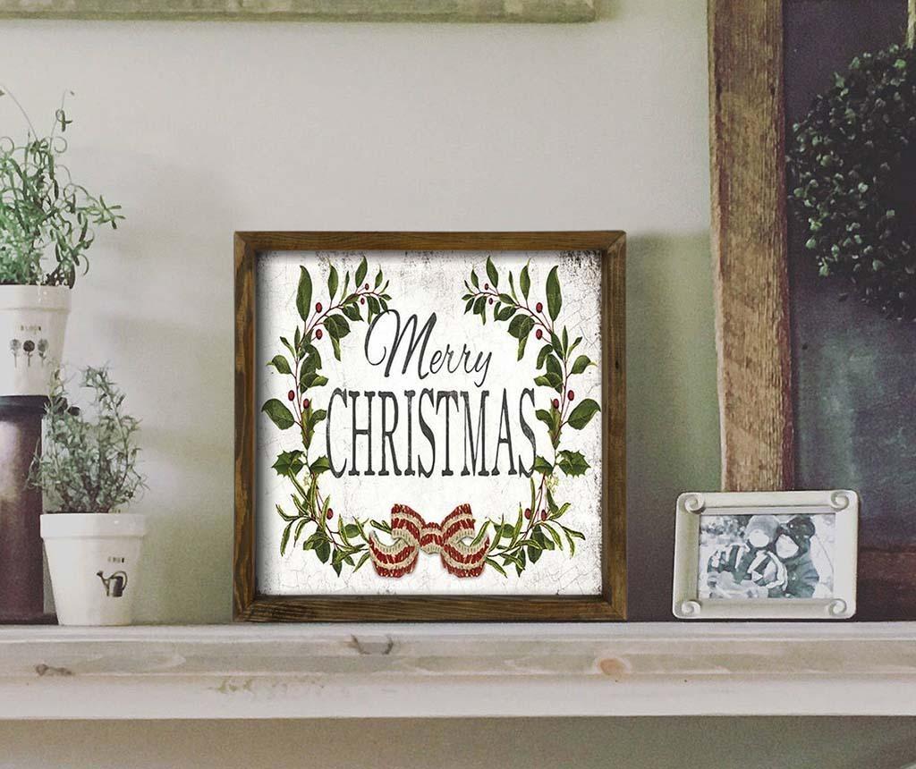 Slika Merry Chtistmas Classic 34x34 cm