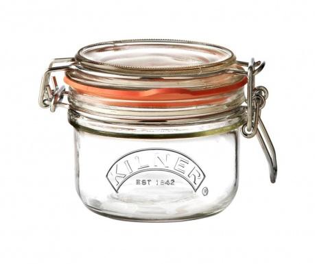 Clipy Befőttesüveg hermetikus fedővel 125 ml
