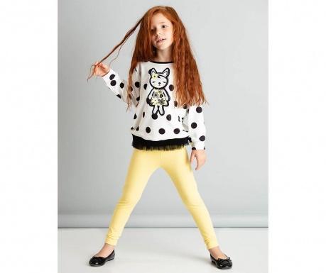 Set bluza si colanti pentru copii Fox 9 ani