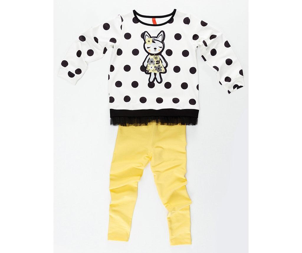 Otroški komplet - majica in pajkice Fox 3 let