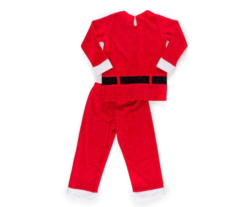 Set bluza si pantaloni pentru copii Christmas  Santa Boy 4 ani