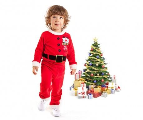 Otroški komplet - majica in hlače Christmas  Santa Boy 5 let