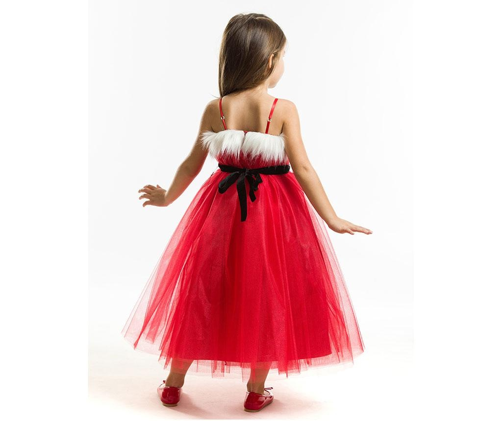Rochie fara maneci pentru copii Tulle Christmas Fairy 2 ani