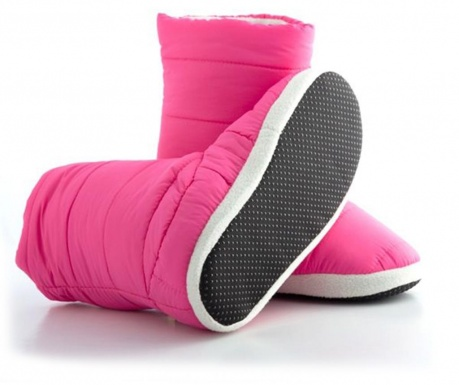 Cizme de casa dama Trendify Pink 40
