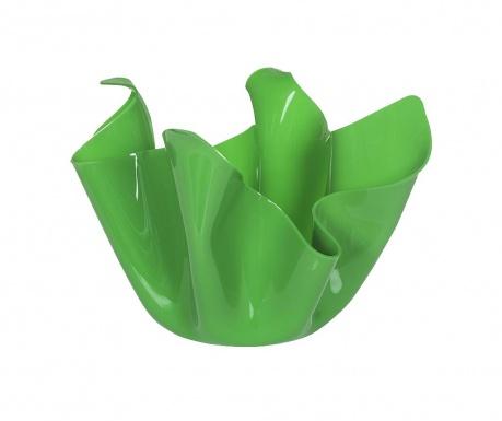 Vas decorativ Drappeggi Green