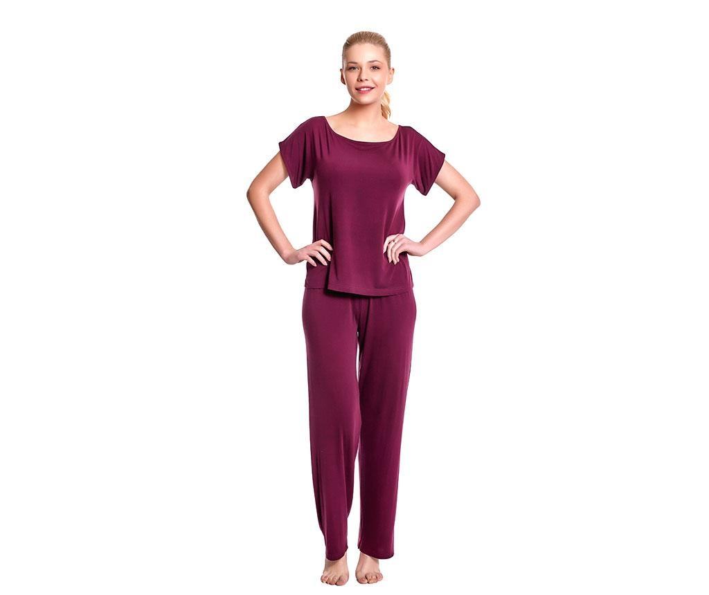 Pijama dama Lillian Red Wine L