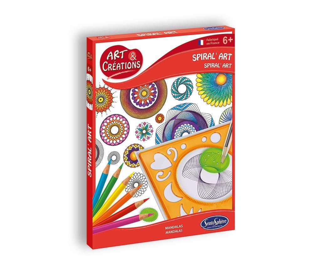 Ustvarjalni set Create Spirals