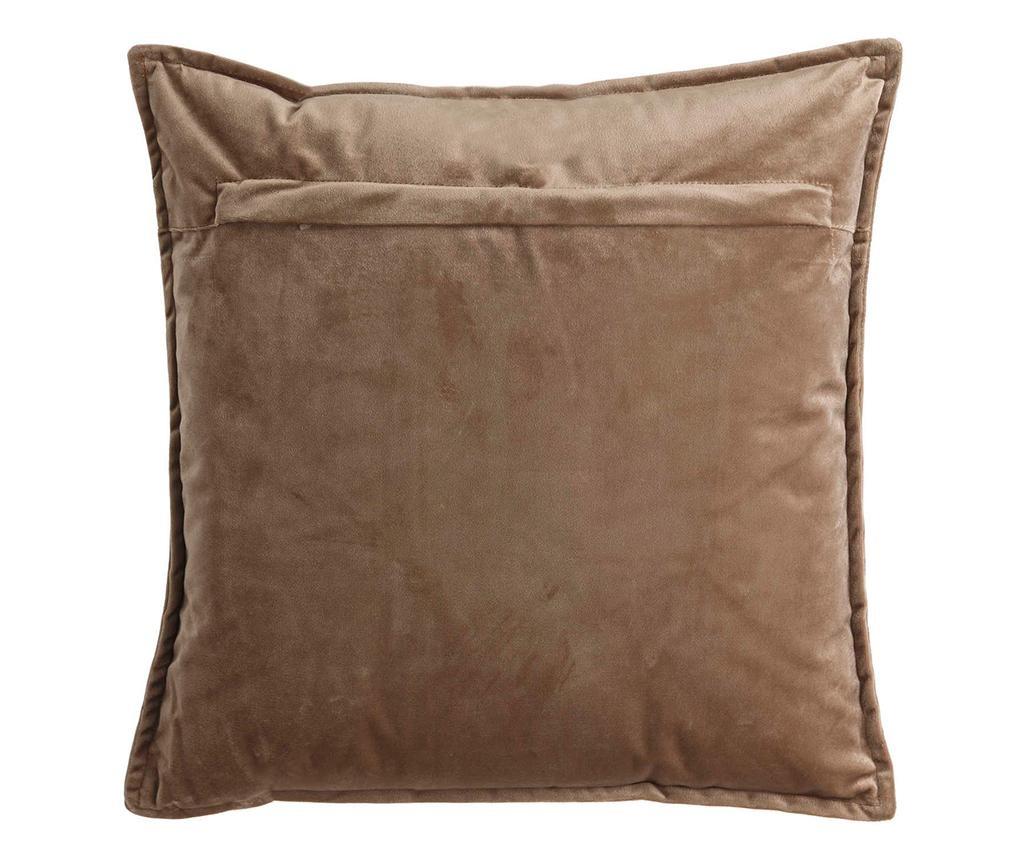 Perna decorativa Fabio Brown 45x45 cm