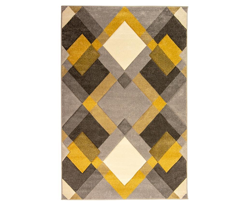 Tepih Nimbus Grey & Yellow 200x290 cm