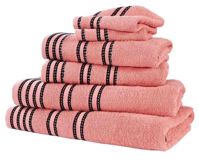 Sada 6 ručníků Sirocco Coral