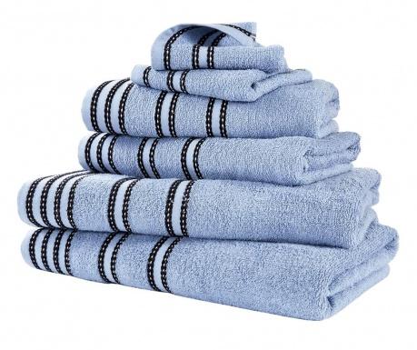 Sada 6 ručníků Sirocco Denim