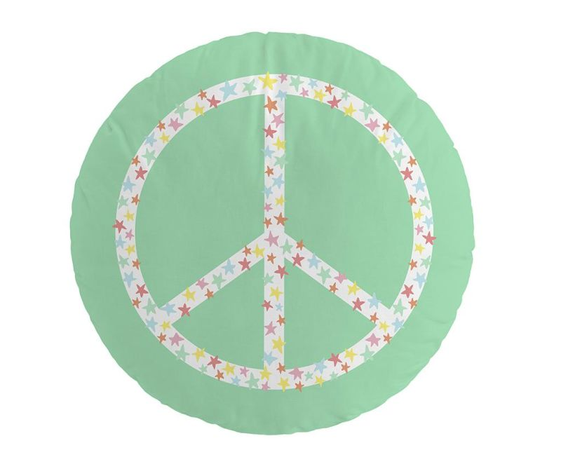Perna decorativa Lonely Band Peace 40 cm