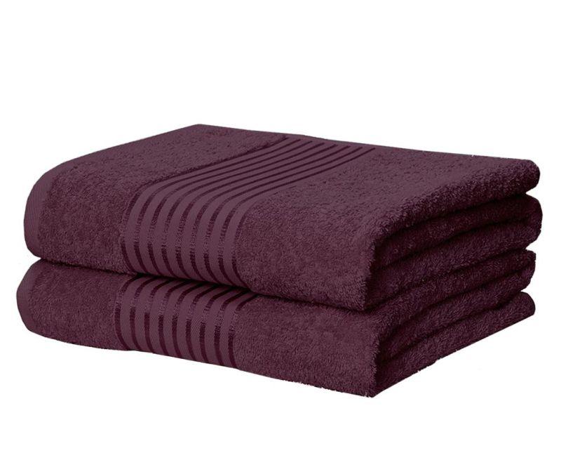 Комплект 2 кърпи за баня Windsor Plum 90x140 см