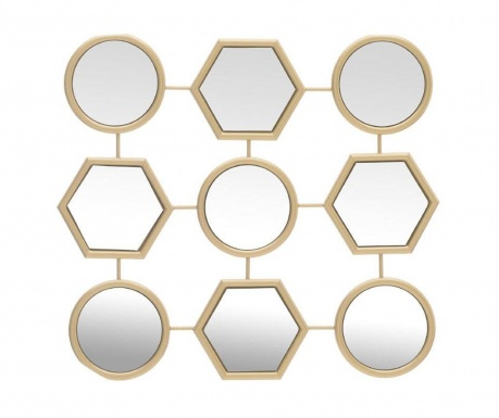 Geometrical Dekoráció tükörrel