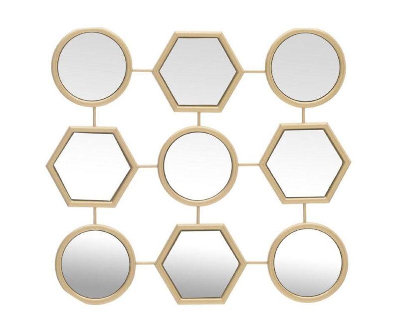 Dekorace se zrcadlem Geometrical
