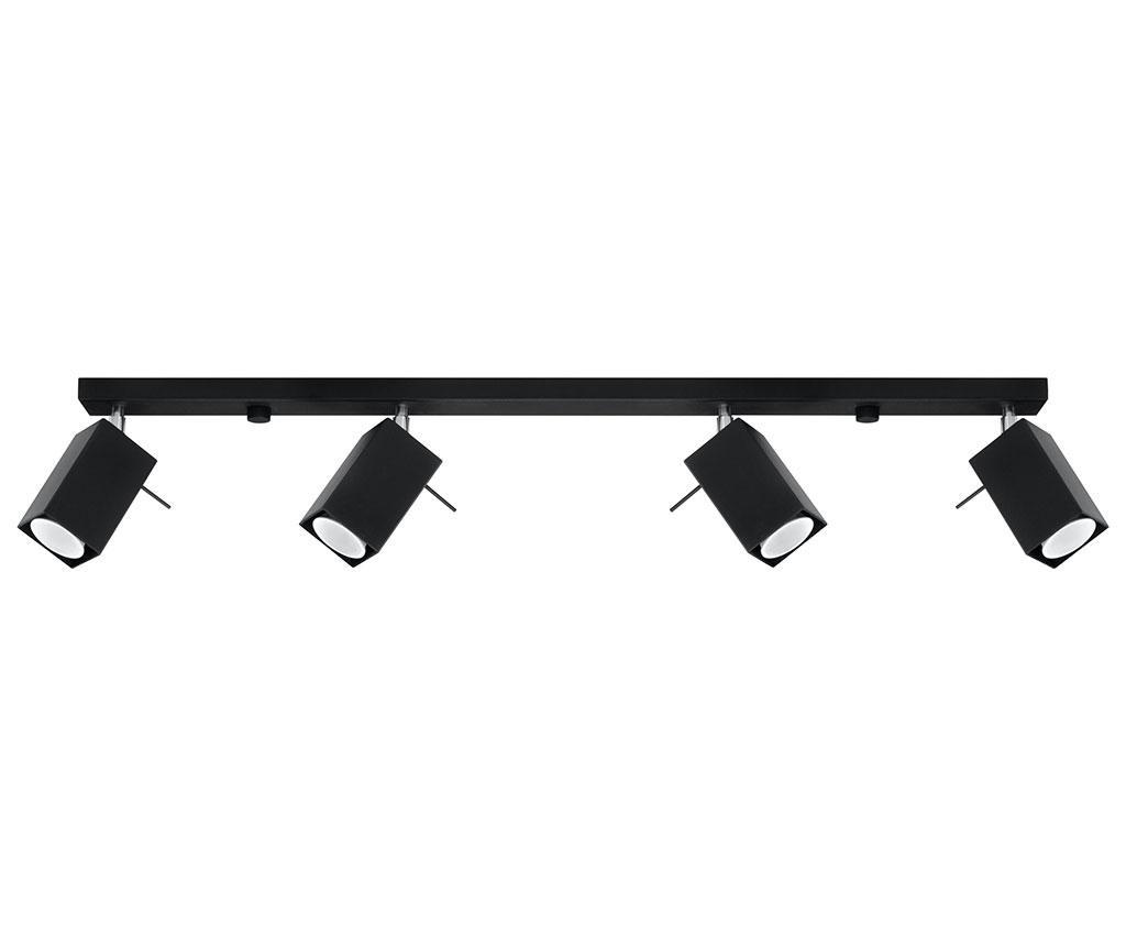 Stropna svjetiljka Toscana Four Long Black