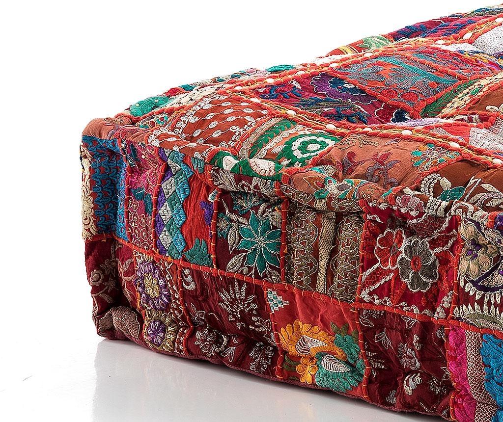 Perna de podea Yantra Red Patch 40x80 cm