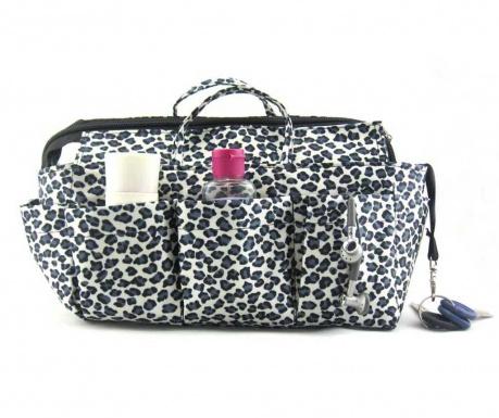 Οργανωτής τσάντας Nikki Leopard Silver