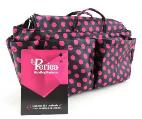 Organizér do tašky Lexy Black Pink