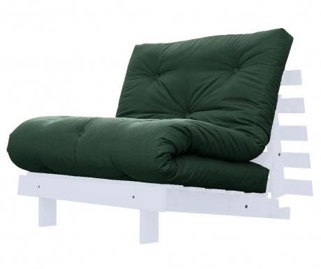 Sofa extensibila Roots White and Botella 90x200 cm