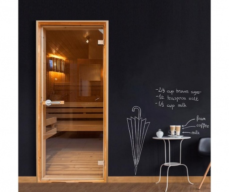 Tapeta za vrata Sauna 80x210 cm