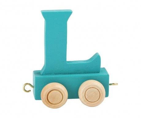 Letter L Játék vonatbetű